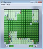 Pantalla Minesweeper