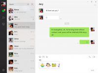 Pantallazo WeChat