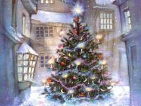 Pantallazo Fondo Arbol de Navidad