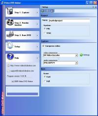 Screenshot Video DVD Maker