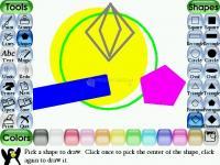 Captura de pantalla Tux Paint