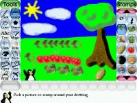Fotograma Tux Paint