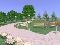 Captura Diseño de Casa y Jardin 3D