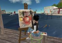 Pantalla Second Life