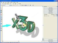 Screenshot Xara 3D
