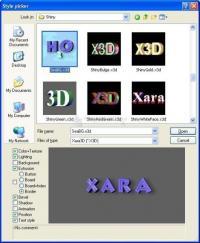 Fotografía Xara 3D